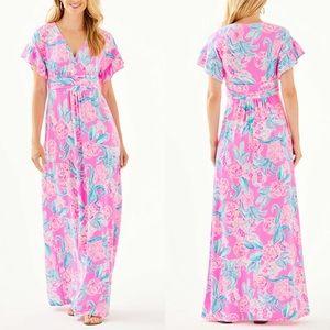 Lilly Pulitzer Jessi Maxi Dress Prosecco Pink